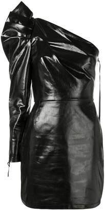 Nineminutes structured one shoulder dress