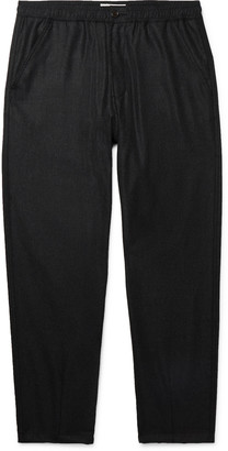 Universal Works Melange Wool-Blend Trousers