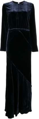 Aspesi open back long dress