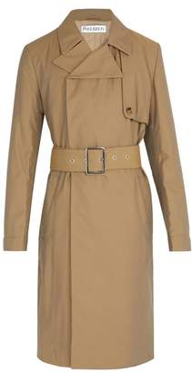 J.W.Anderson Wadded Trench Coat - Mens - Beige