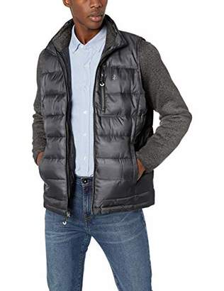 Izod Men's 3-in-1 Puffer Vest Sweater Systems Jacket