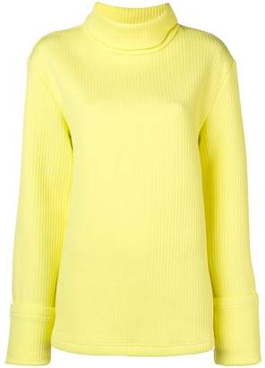 MM6 MAISON MARGIELA turtleneck ribbed sweater