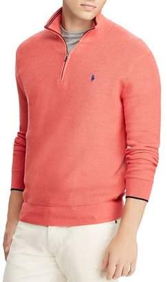 Polo Ralph Lauren Mesh Half-Zip Sweater
