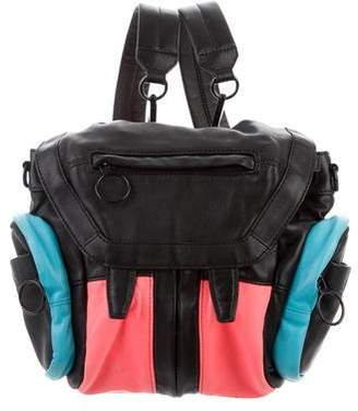 Alexander Wang Convertible Leather Backpack