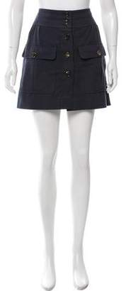 Chloé Button-Up Mini Skirt w/ Tags