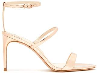 Sophia Webster Rosalind Metallic Leather Sandals - Womens - Rose Gold
