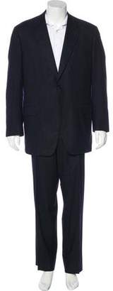 Canali Wool Pinstripe Two-Piece Suit