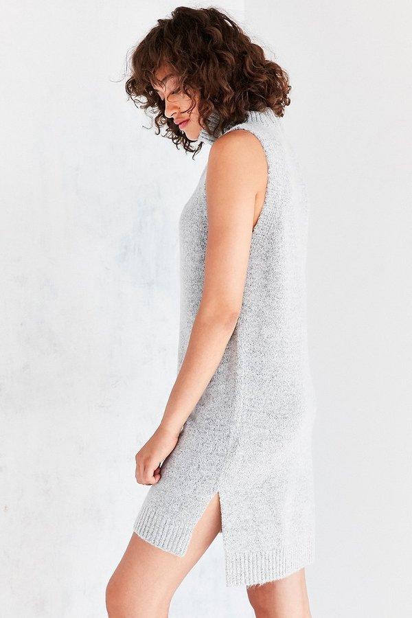 BDG Turtleneck Mini Sweater Dress