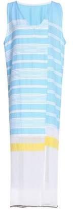 Lemlem Striped Cotton-Blend Gauze Midi Dress