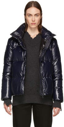 Duvetica Navy Alane Down Jacket