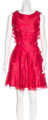 Christian Dior Silk Pleated Dress