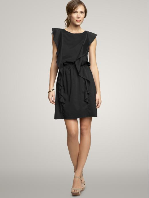 Gap Cascade trim dress