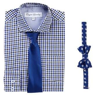 English Laundry Dress Shirt & Ties Set (Toddler Boys)