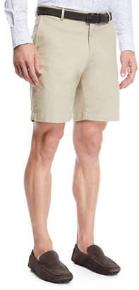 Peter Millar Men's Crown Soft Touch Twill Shorts