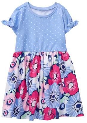 Gymboree Floral Twofer Dress
