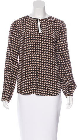 Marc Jacobs Marc Jacobs Oversize Long Sleeve Blouse