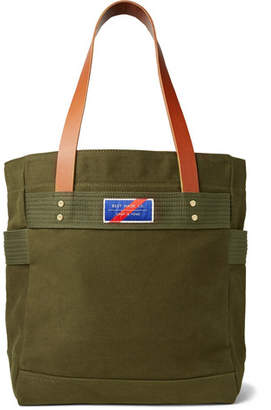 Best Made Company Leather-Trimmed Canvas Tote Bag