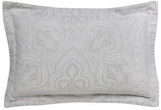 Fable Light Grey Cotton 350 Thread Count Jacquard 'Kendari' Oxford Pillow Case