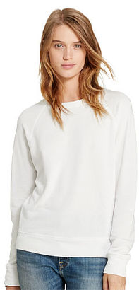 Ralph Lauren Denim & Supply French Terry Sweatshirt $98 thestylecure.com