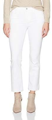 J Brand Jeans Women's Selena Mid Rise Bootcut Crop