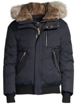 Mackage Dixon Fur-Trimmed Bomber Jacket