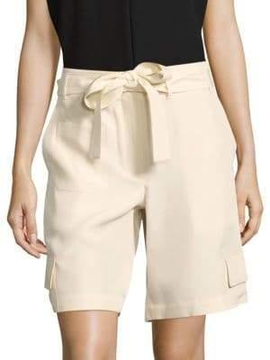 Helmut Lang Dupponi Silk Cargo Shorts