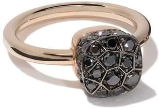 Pomellato 18kt rose gold and 18kt white gold Solitare ring