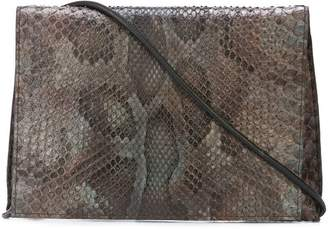 B May foldover clutch bag