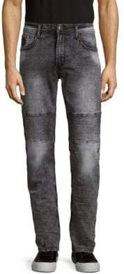 Buffalo David Bitton Skinny Moto Jeans