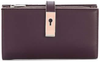 Bally Amber plain wallet