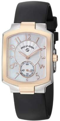 Philip Stein Teslar Women's 21TRG-FW-RB Classic Black Rubber Strap Watch
