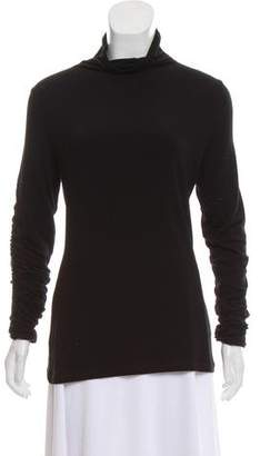 Preen Line Ruffle Mock Neck Top w/ Tags