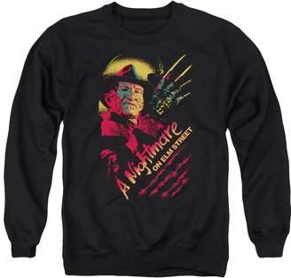 Freddy Trevco Nightmare On Elm Street Claws Adult Crew Sweatshirt