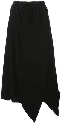 Yohji Yamamoto asymmetric long skirt