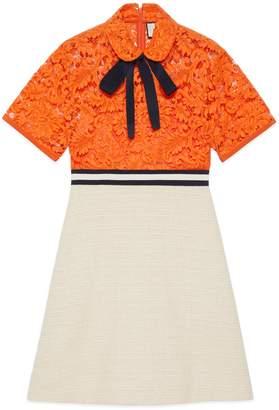 Gucci Flower lace dress