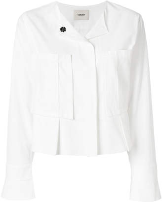 Odeeh oversized chest pockets jacket