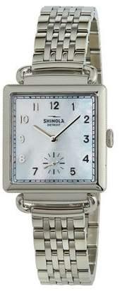 Shinola The Cass 28mm Bracelet Watch