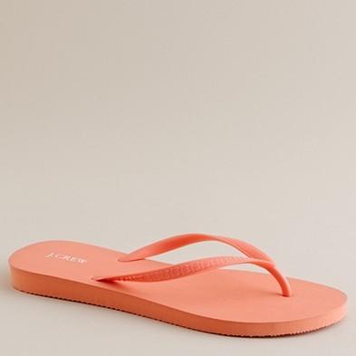 Skinny flip-flops