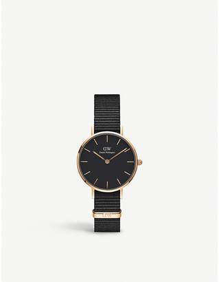 Daniel Wellington Classic Petite Cornwall rose gold-plated watch