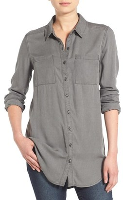 Women's Bp. Woven Twill Tunic $48 thestylecure.com