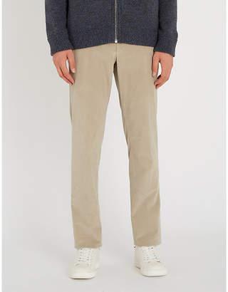 Corneliani Cotton-corduroy straight-leg trousers