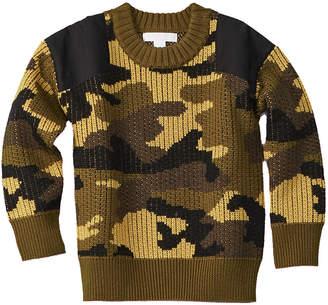 Burberry Camo Wool Sweater