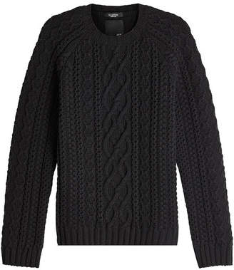 Valentino Untitled Cable Knit Pullover
