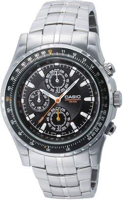 Casio Mens Stainless Steel Aviator-Style Chronograph Watch MTP4500D-1AV