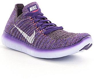 Nike Women's Free Run Flyknit Running Shoes $130 thestylecure.com