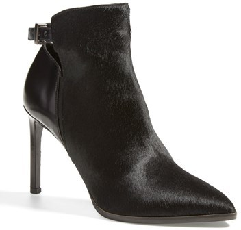 Vince 'Calla' Leather & Calf Hair Bootie (Women)