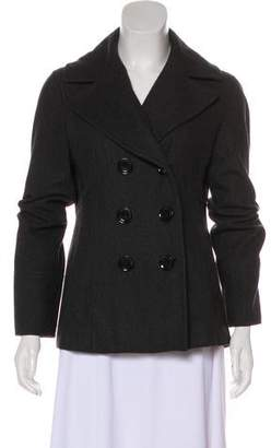 MICHAEL Michael Kors Wool Double-Breasted Jacket