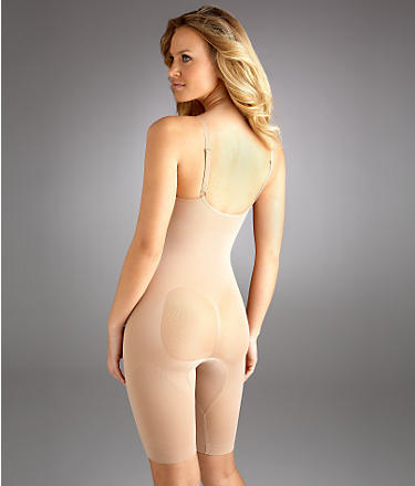 Body Wrap Underwire Long Leg Body Briefer Shapewear