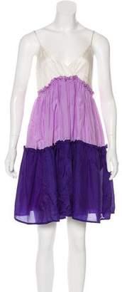P.A.R.O.S.H. Silk Casual Dress