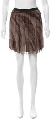 Raquel Allegra Silk Mini Skirt w/ Tags